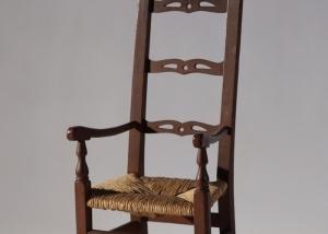 Childu0027s Chippendale Maple Armchair