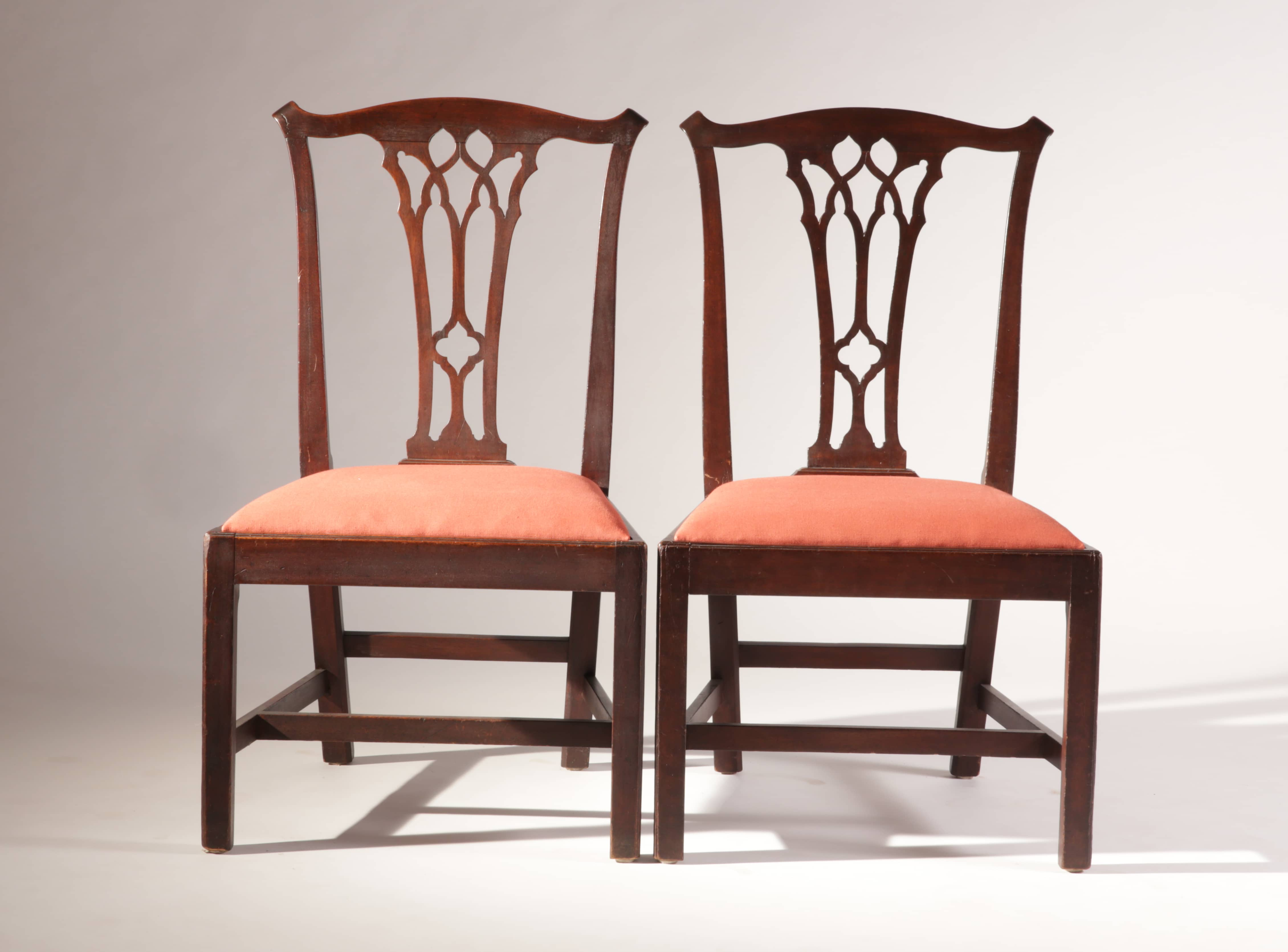 chippendale side chair. Chippendale Side Chairs With Gothic Splats. ;  Chair